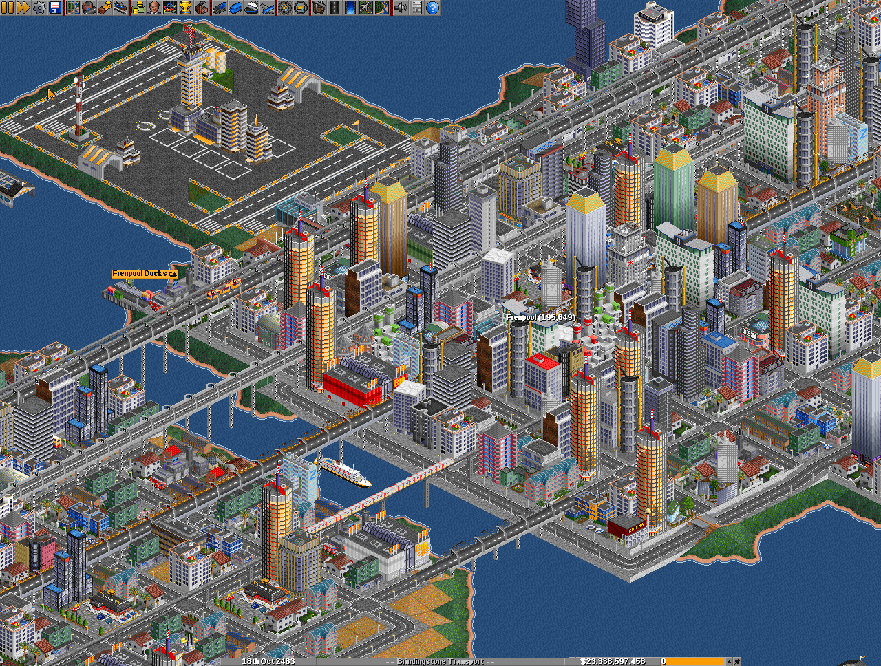 OpenTTD 1.2.1 Screenshot