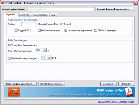 7-PDF Maker Screenshot