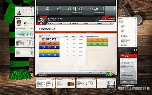FUSSBALL MANAGER 12 Demo 1.0 Screenshot