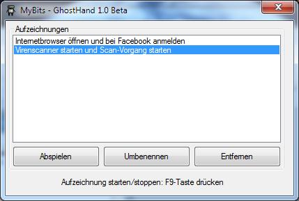 GhostHand Screenshot
