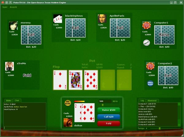 PokerTH 1.0.1 Screenshot