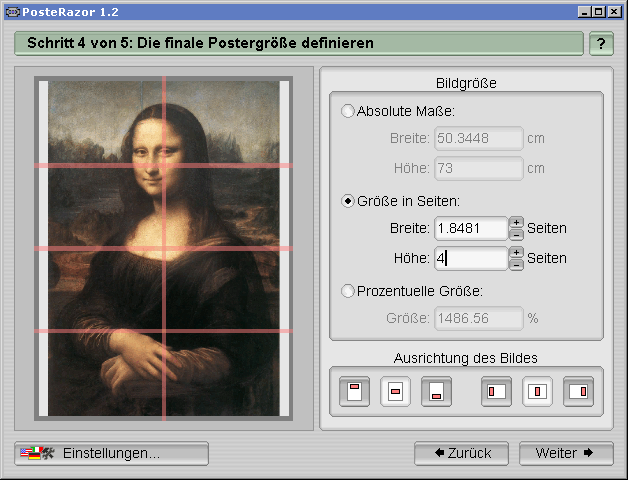 PosteRazor 1.2 Screenshot