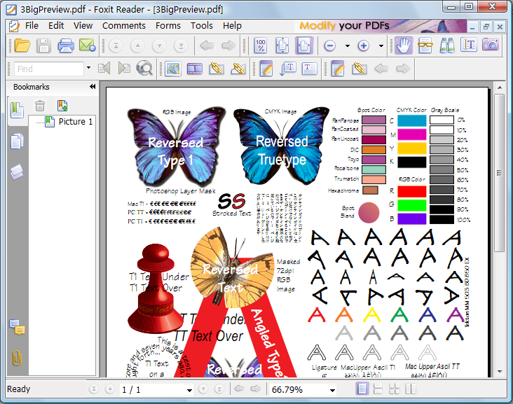 Foxit Reader 8.2.1 Screenshot