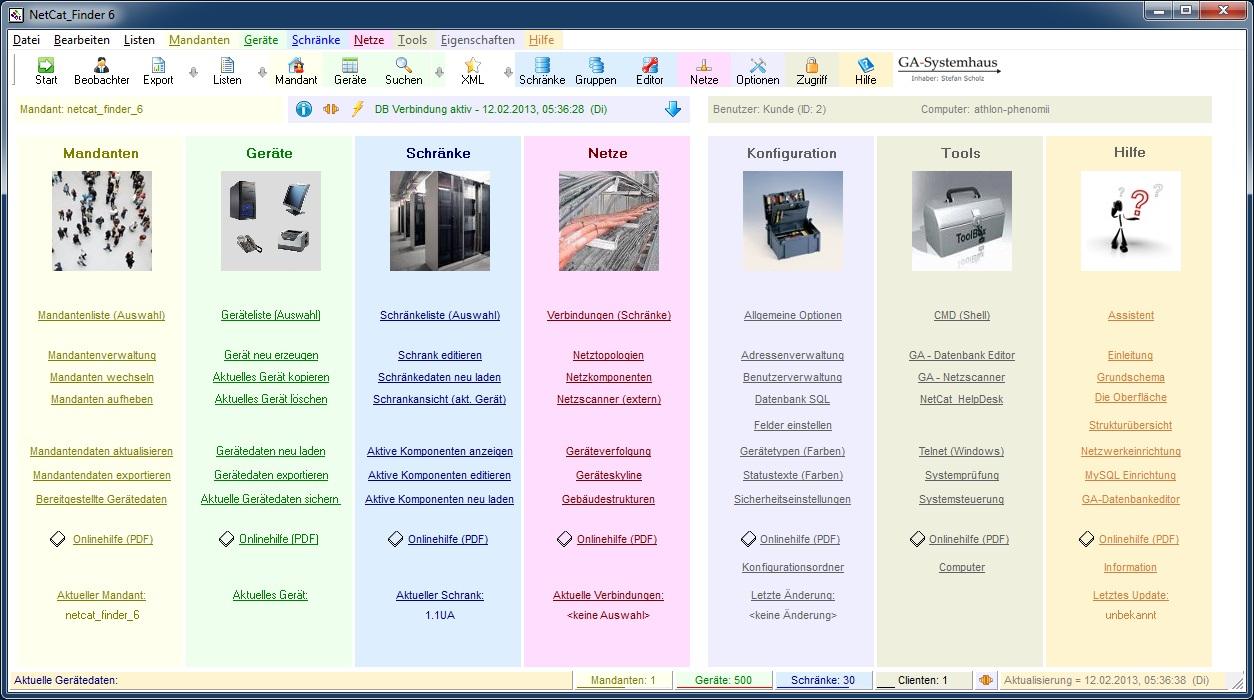 NetCat_Finder 6 6 Screenshot