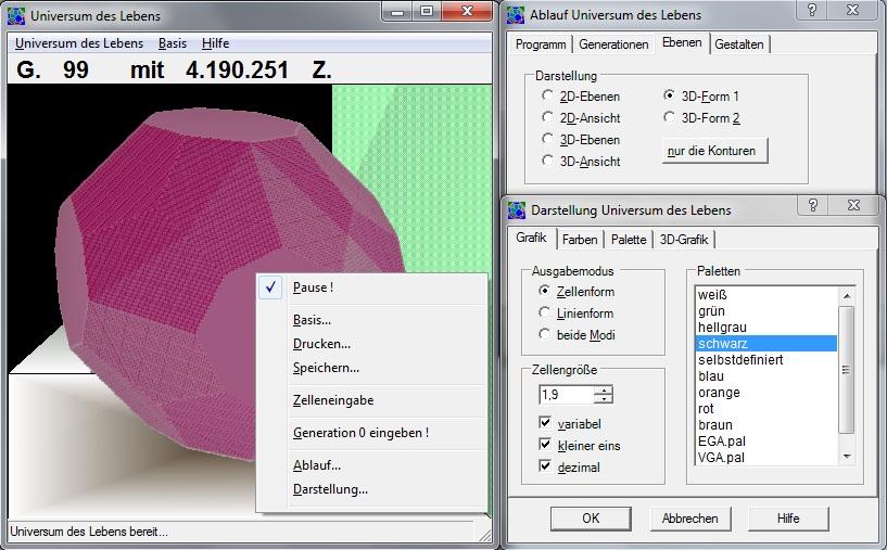 Universum des Lebens 1.0 Screenshot