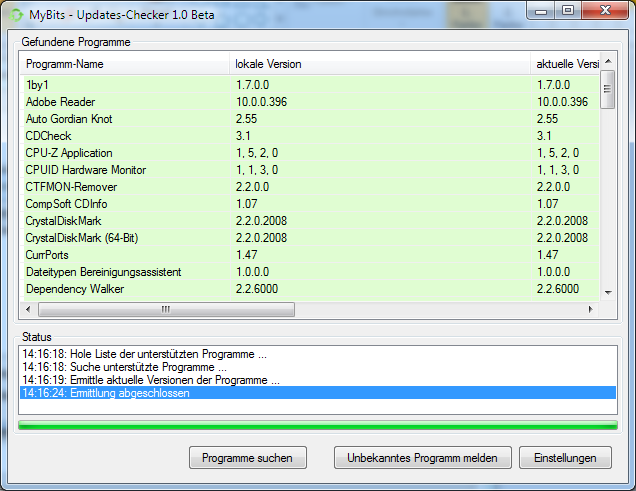 Updates-Checker 1.0 Screenshot