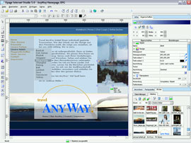 Xpage Internet Studio 6 6.6 SE Screenshot