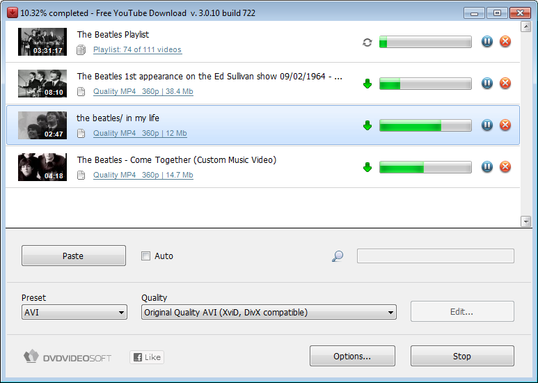Free YouTube Downloader 3.2.49 Screenshot