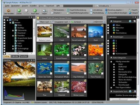 ACDSee Foto Manager Screenshot