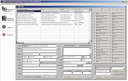 Address-Control 3.37 Screenshot