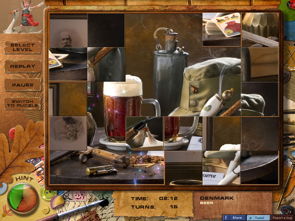 Adore Puzzle 2 Flavors of Europe Screenshot