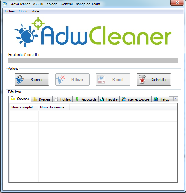 AdwCleaner 7.031 Screenshot