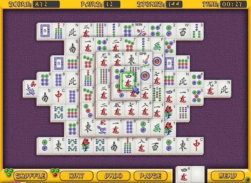 All-Time Mahjongg Screenshot