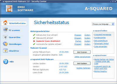 a-squared Anti-Malware 8.0.0.10 Screenshot