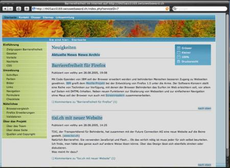 Safari 5.1.7 Screenshot