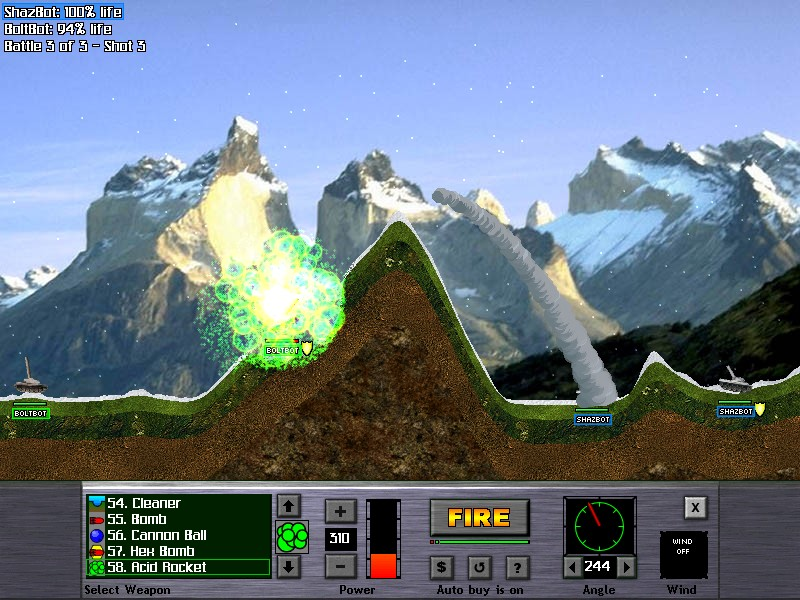 Atomic Cannon 2.6 Screenshot