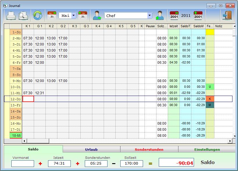 AZ-Controll-MX 2.14 Screenshot