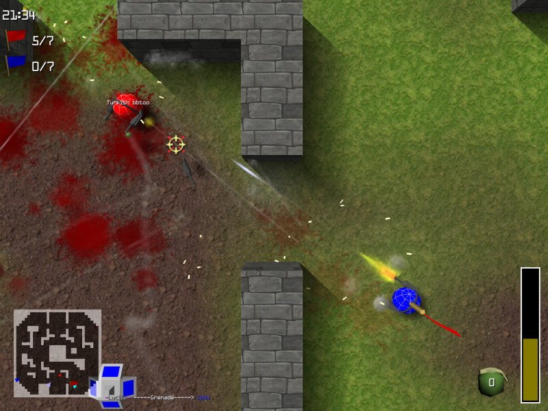 Bab Violent 2 gra shooter games blood krew