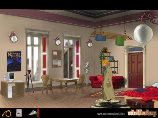 Baphomets Fluch 2.5 - Broken Sword 1.0 Screenshot