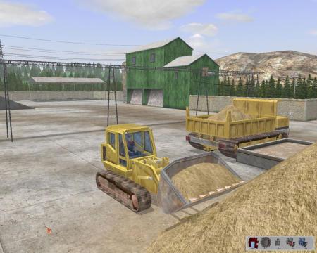 Bagger-Simulator 2008 Screenshot