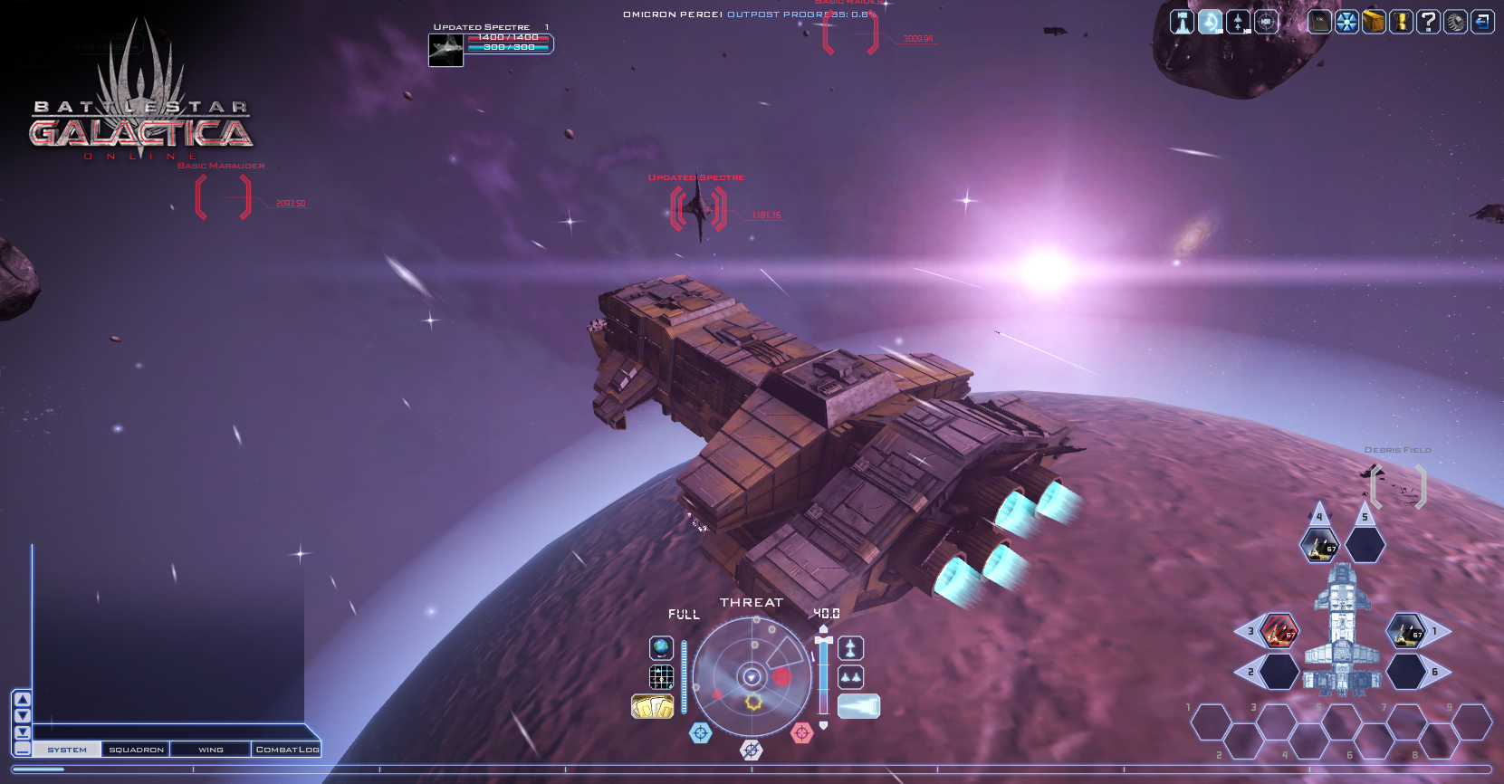 Battlestar Galactica Online 1.0 Screenshot