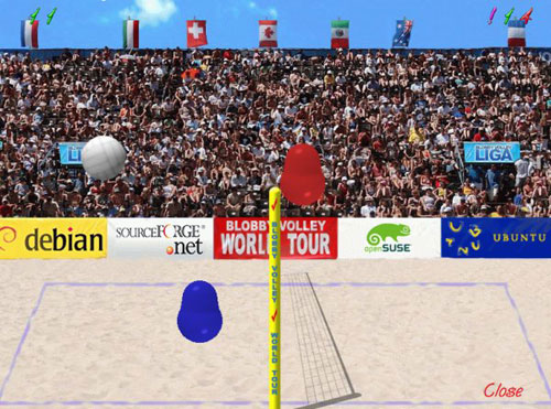 Blobby Volley 2 0.9c Screenshot