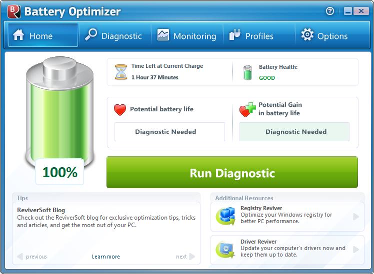 Battery Optimizer Screenshot