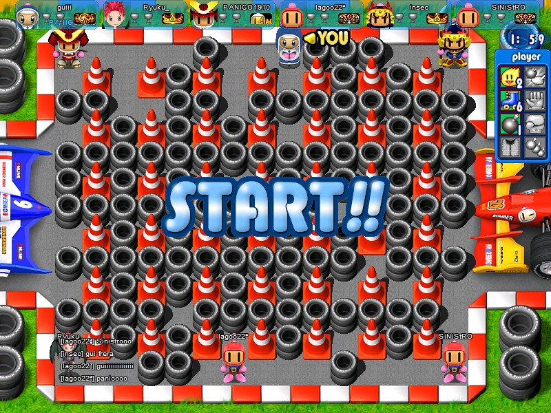 Bomberman World Online Screenshot