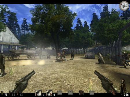 Call of Juarez: Bound in Blood 1.0 Screenshot