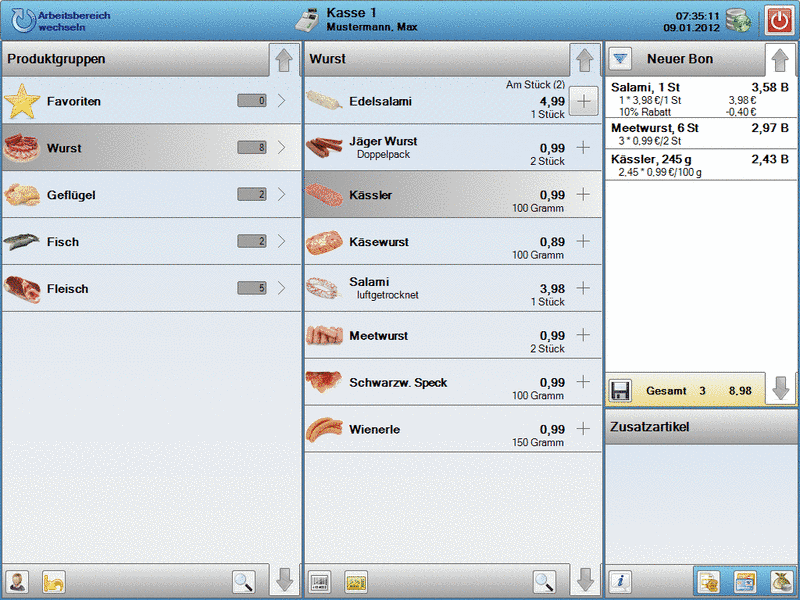cashDESK 2.3.8 Screenshot