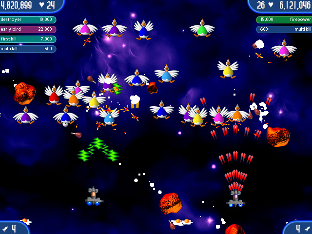 Chicken Invaders 2: The Next Wave Screenshot