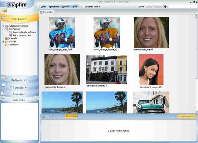 Corel Snapfire 1.0 Screenshot