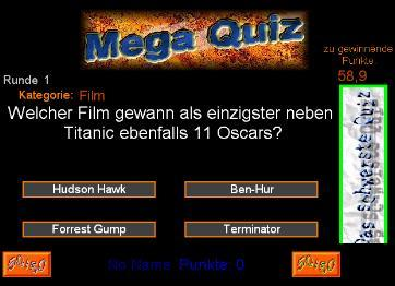 Das Mega Quiz Screenshot