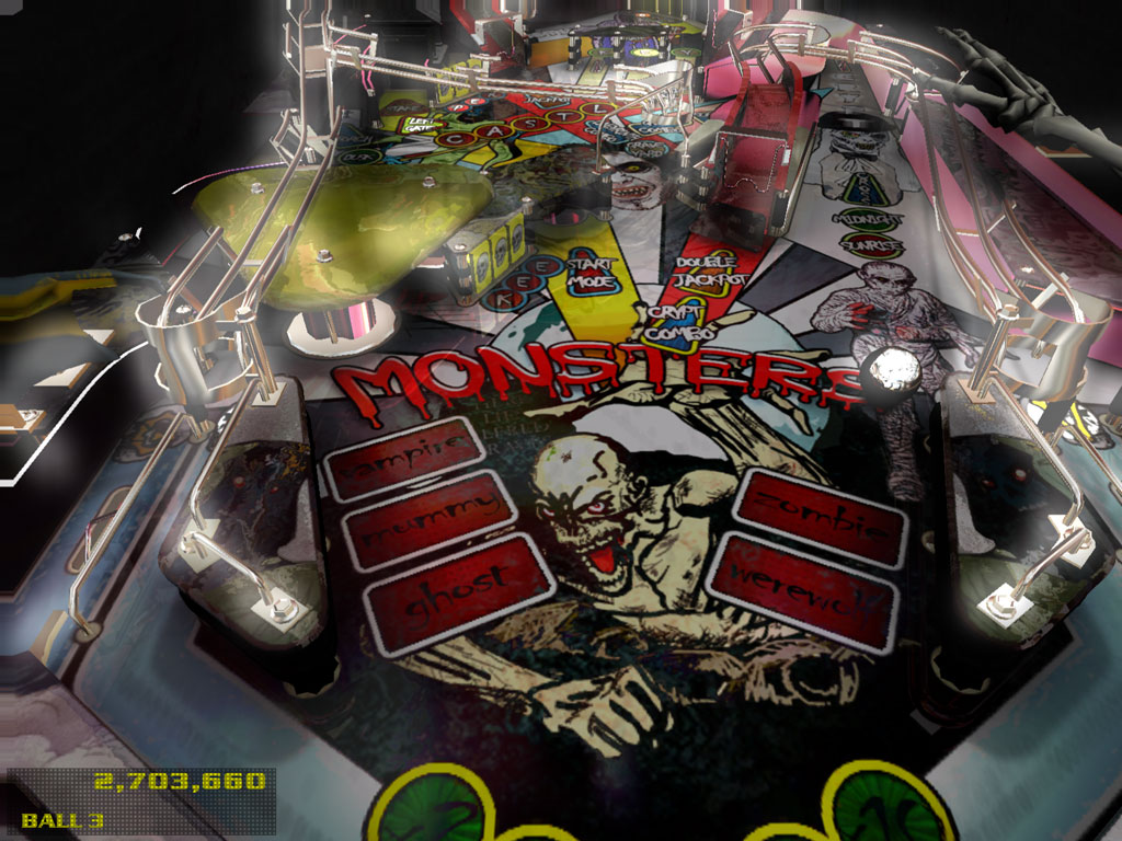 Dream Pinball 3D - Two Worlds 1.0 Screenshot