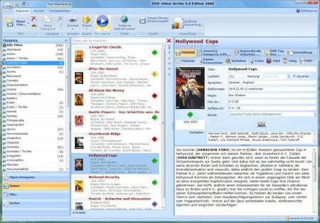 DVD-Video-Archiv Edition 2009 Screenshot