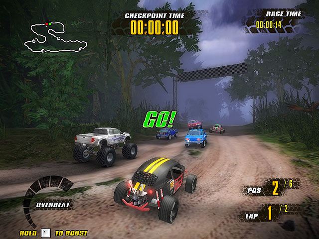 Extreme Jungle Racers 1.0 Screenshot