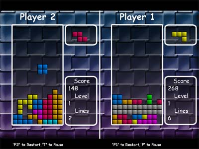 EIPC Free Tetris 1.9 Screenshot