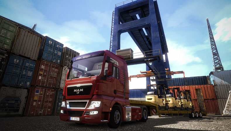 Euro Truck Simulator 2 Demo 1.1 Screenshot
