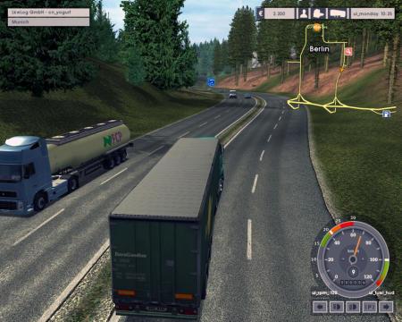 Euro Truck Simulator 1.0 Screenshot