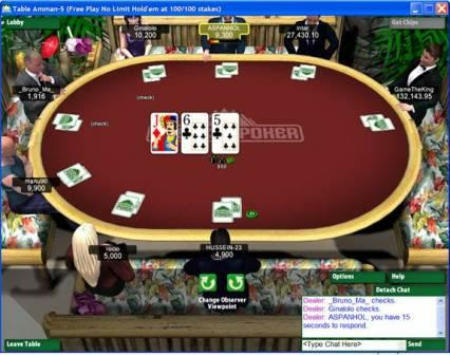 Everest Poker 9.7 Screenshot