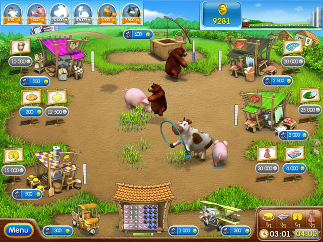 Farm Frenzy 2 2.0 Screenshot