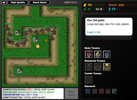 Flash Element TD Screenshot