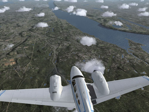 Flight Simulator X 1.0 Screenshot