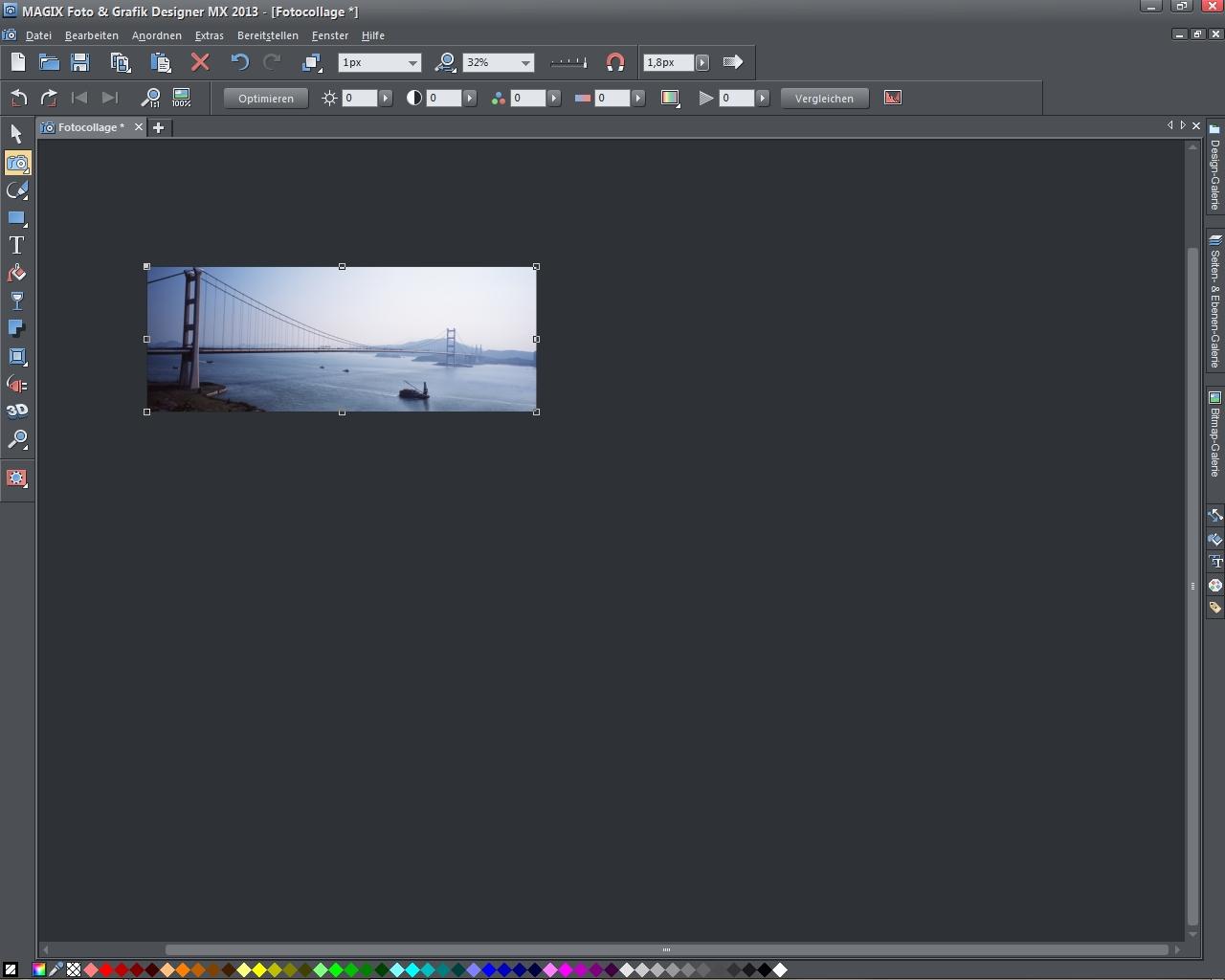 MAGIX Foto & Grafik Designer 2013 Screenshot