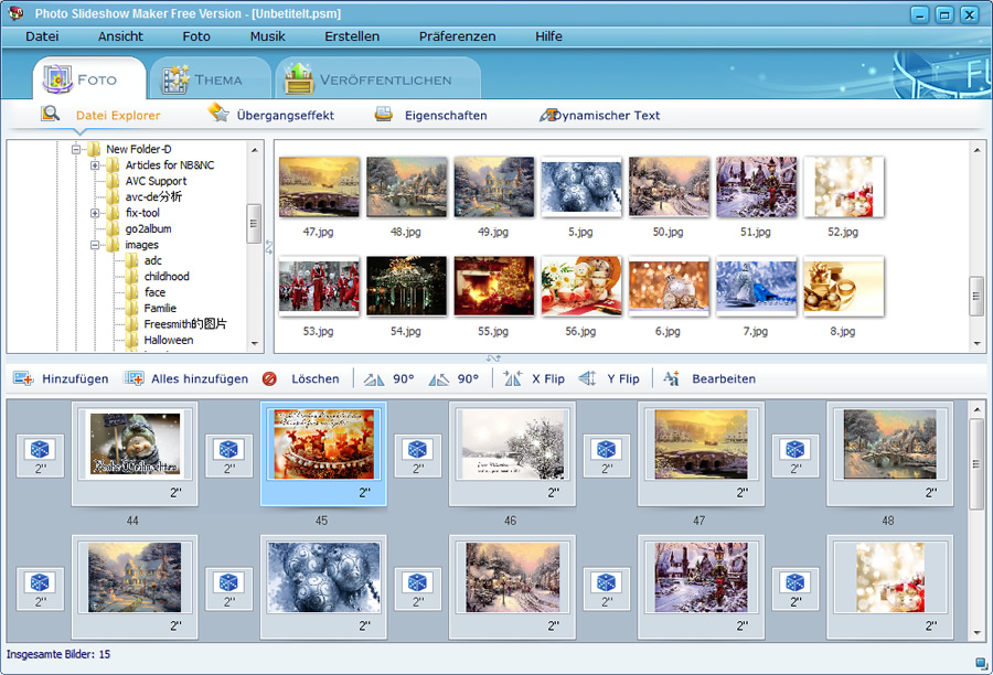 Photo Flash Maker 5.53 Screenshot