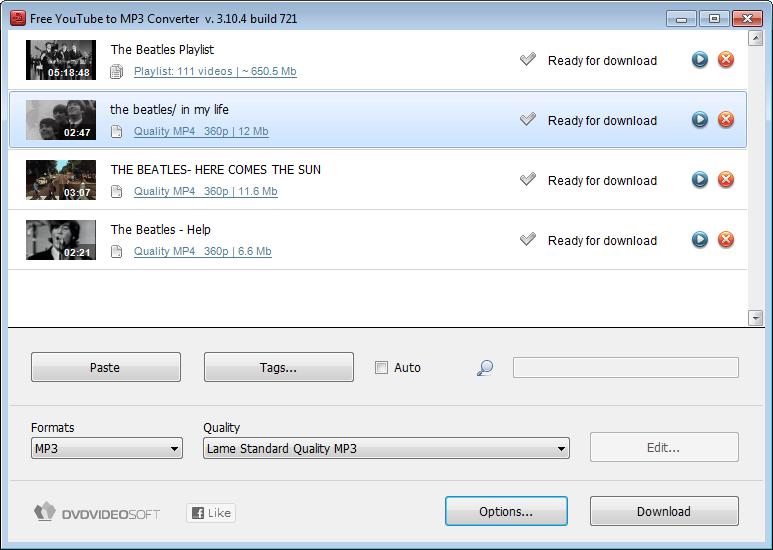 Free YouTube to MP3 Converter Screenshot