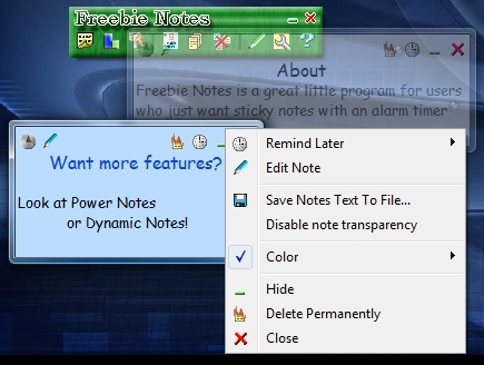 Freebie Notes 3.48 Screenshot
