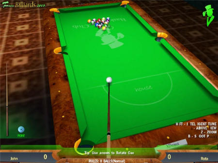 Free Billiards 2008 1.0 Screenshot