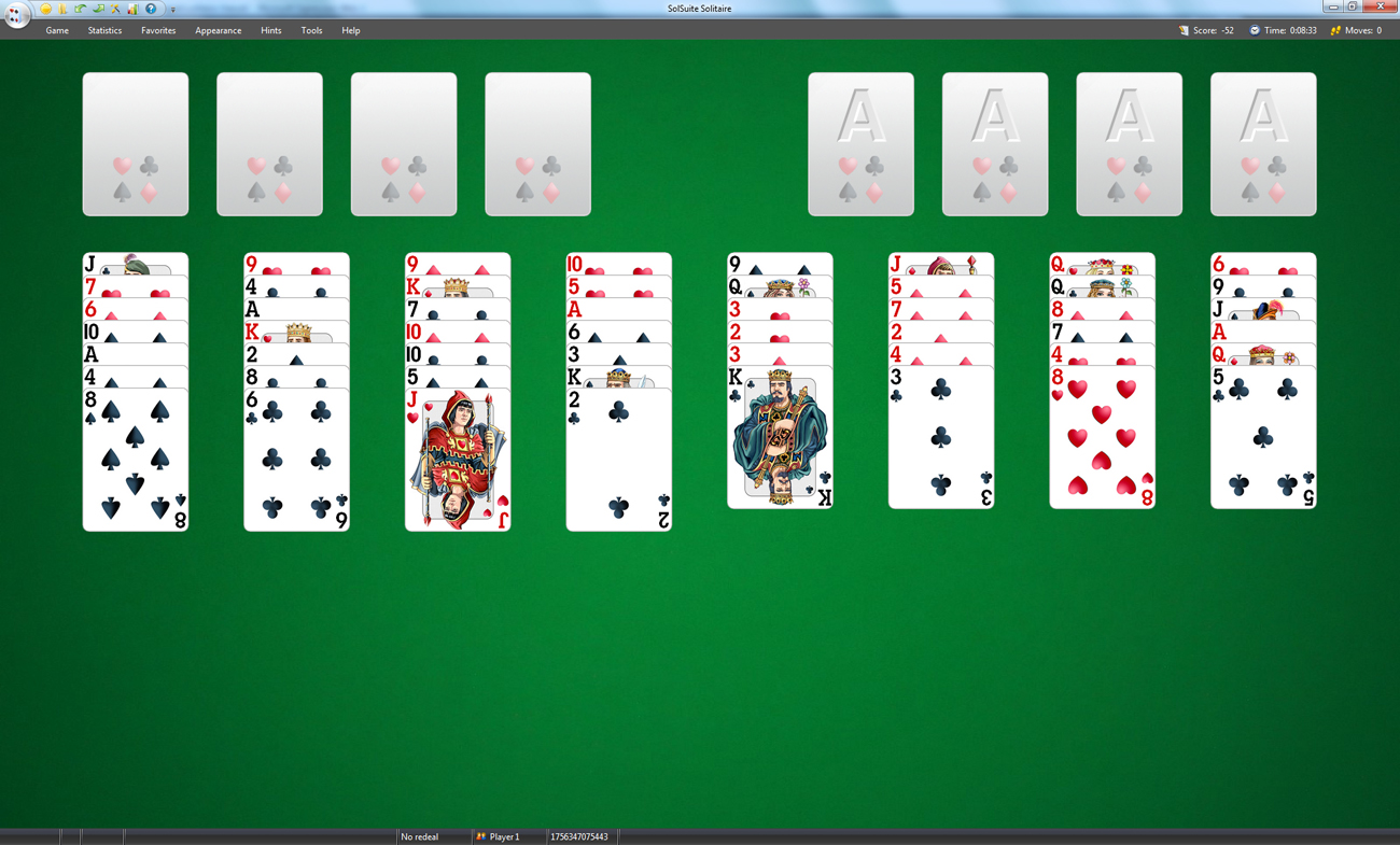 Freecell 3.2 Screenshot