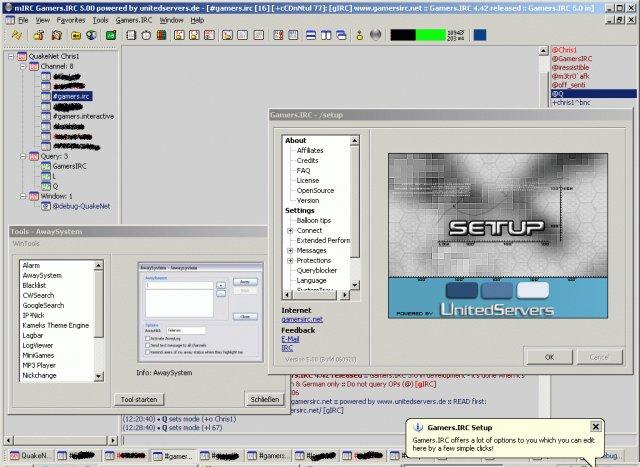 Gamers.IRC 6.07 Screenshot